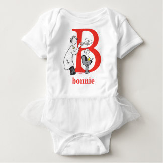 Dr. Seusss ABCs: Buchstabe B - Rot | addieren Baby Strampler