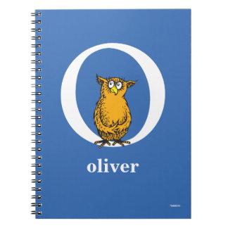 Dr. Seusss ABCs: Buchstabe O - Weiß | addiert Notizblock