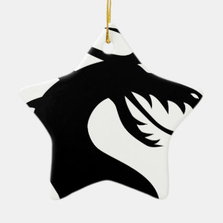 Drache-Monster Keramik Ornament