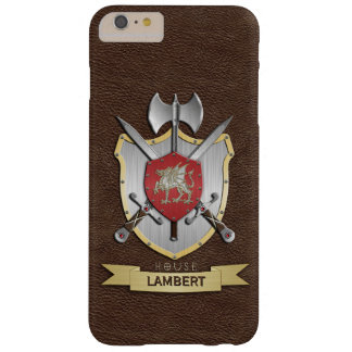 Drache Sigil Kampf-Wappen Brown Barely There iPhone 6 Plus Hülle
