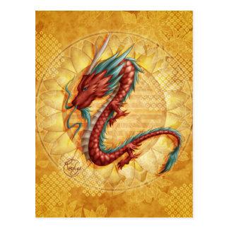 Drachen Postkarte