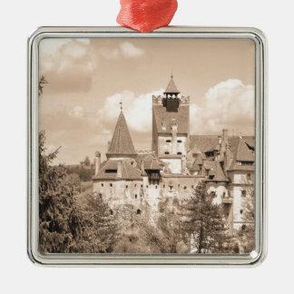 Dracula-Schloss in Siebenbürgen, Rumänien Silbernes Ornament