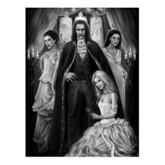 Dracula und seine Damen Postkarte