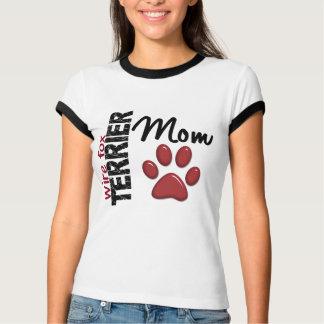 Draht-Foxterrier-Mamma 2 T-Shirt