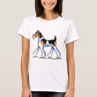 Draht-Foxterrier-Trab T-Shirt