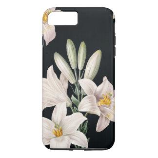 Drastische Schwarzweiss-Lilien iPhone 8 Plus/7 Plus Hülle