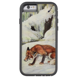 Drastischer Fuchs in Schnee iPhone Fall Tough Xtreme iPhone 6 Hülle