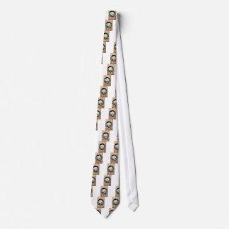 Draufsicht mit gebackenen Scheiben des Individuelle Krawatte