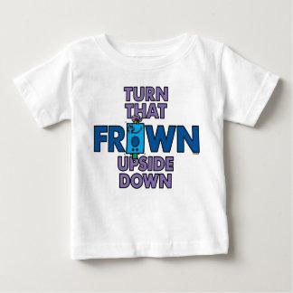 Drehung Herr-Grumpy |, das umgedreht die Stirn Baby T-shirt