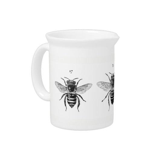 Drei Bienen-Krug Krüge