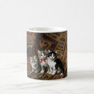 Drei Kätzchen-Klassiker-Tasse Tasse