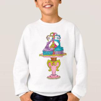 Drei kleine Kuchen Sweatshirt