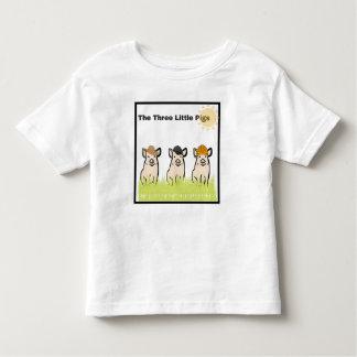 Drei kleine Schweine Kleinkind T-shirt