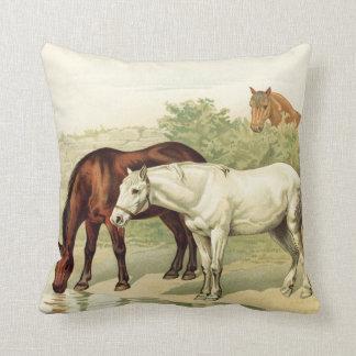 drei Pferde Kissen