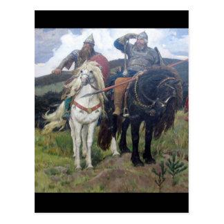 Drei Viking-Pfadfinder Postkarte