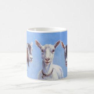Drei Ziegen Tasse