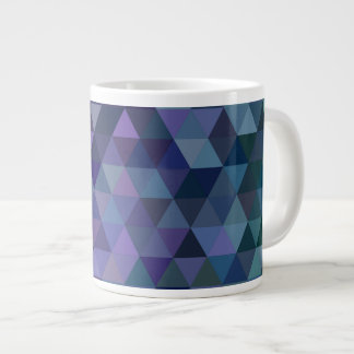 Dreieckfliesen Jumbo-Tassen