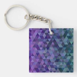 Dreieckfliesen Schlüsselanhänger