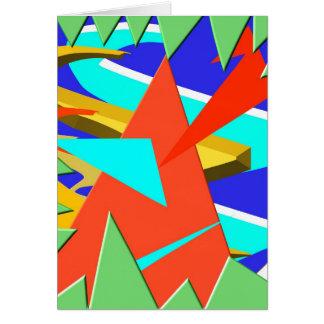 Dreieckiges Maß 2 Karte