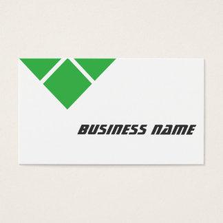 Dreifache grüne Sicherheits-Ingenieur-Visitenkarte Visitenkarte