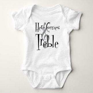 Dreifacher Baby-Bodysuit Baby Strampler