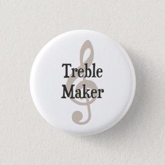 Dreifacher Herstellerclef-Musical-Unruhestifter Runder Button 3,2 Cm