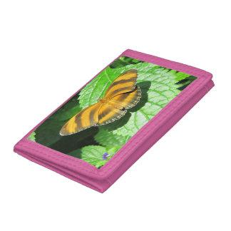 Dreifachgefaltete Geldbörse des Schmetterlinges