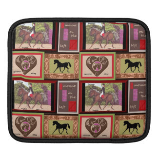 Dressage-PferdiPad Hülse iPad Sleeve
