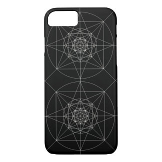 Dritte heilige dimensionalgeometrie iPhone 8/7 hülle
