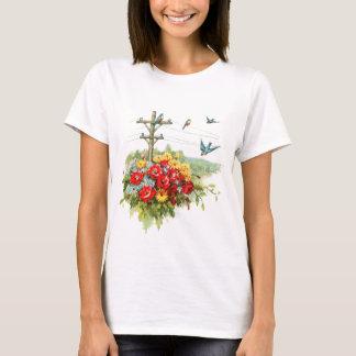 Drosseln auf Power-Linie T-Shirt
