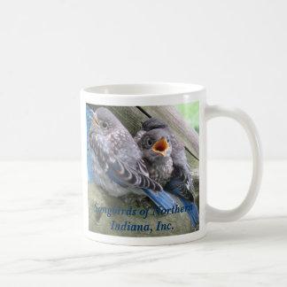Drosseln Kaffeetasse