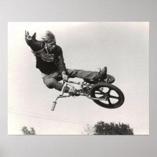 Druck der alte Schule BMX Poster