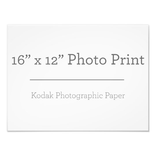 40,64cm x 30,48cm, Kodak Premium Foto-Papier (Satin)