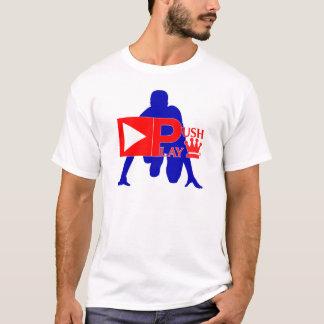 Drücken Sie Spiel-athletische Abnutzungs-Bahn T-Shirt