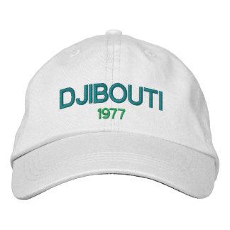 DschibutiBaseball-Mütze 1977 Bestickte Baseballkappe