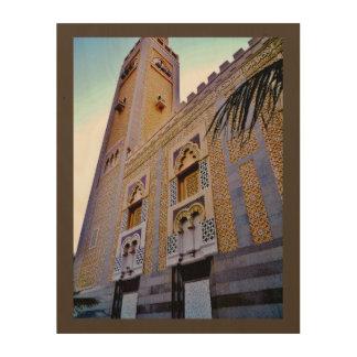 Dschidda-Moschee Holzwanddeko