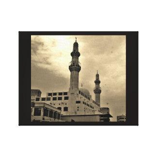 Dschidda-Moschee Leinwanddruck