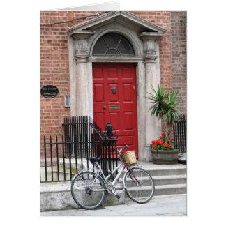 Dublin, Irland Grußkarte