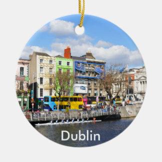 Dublin. Irland Keramik Ornament
