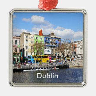 Dublin. Irland Silbernes Ornament