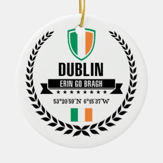 Dublin Keramik Ornament