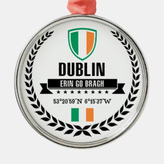 Dublin Silbernes Ornament