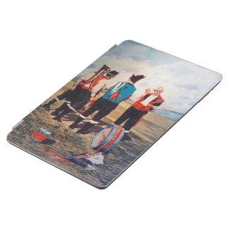 Dudelsackspieler/Gaiteiros/Pipers iPad Air Hülle