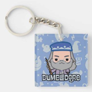 Dumbledore Cartoon-Charakter-Kunst Schlüsselanhänger