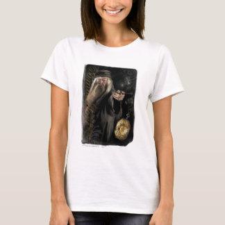 Dumbledore Skript-Logo T-Shirt
