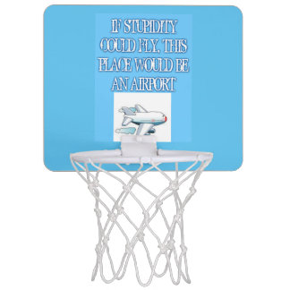 Dummheits-Minibasketball-Ziel Mini Basketball Ringe