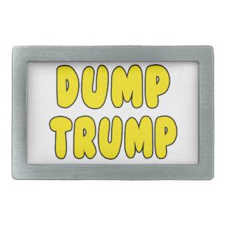 Dump-Trumpf Rechteckige Gürtelschnalle