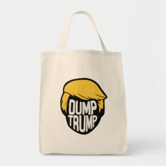 Dump-Trumpf-(schwarze) Tasche