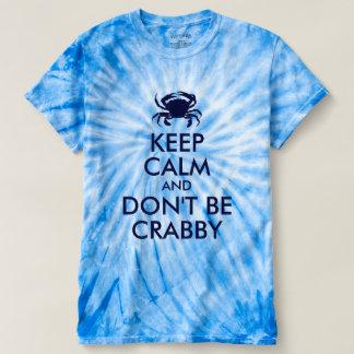 Dunkelblau behalten Sie Ruhe und seien Sie nicht T-shirt