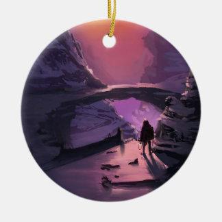 Dunkelheit ist gerade das Fehlen Licht Keramik Ornament